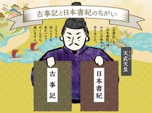 古事記と日本書紀のちがい
